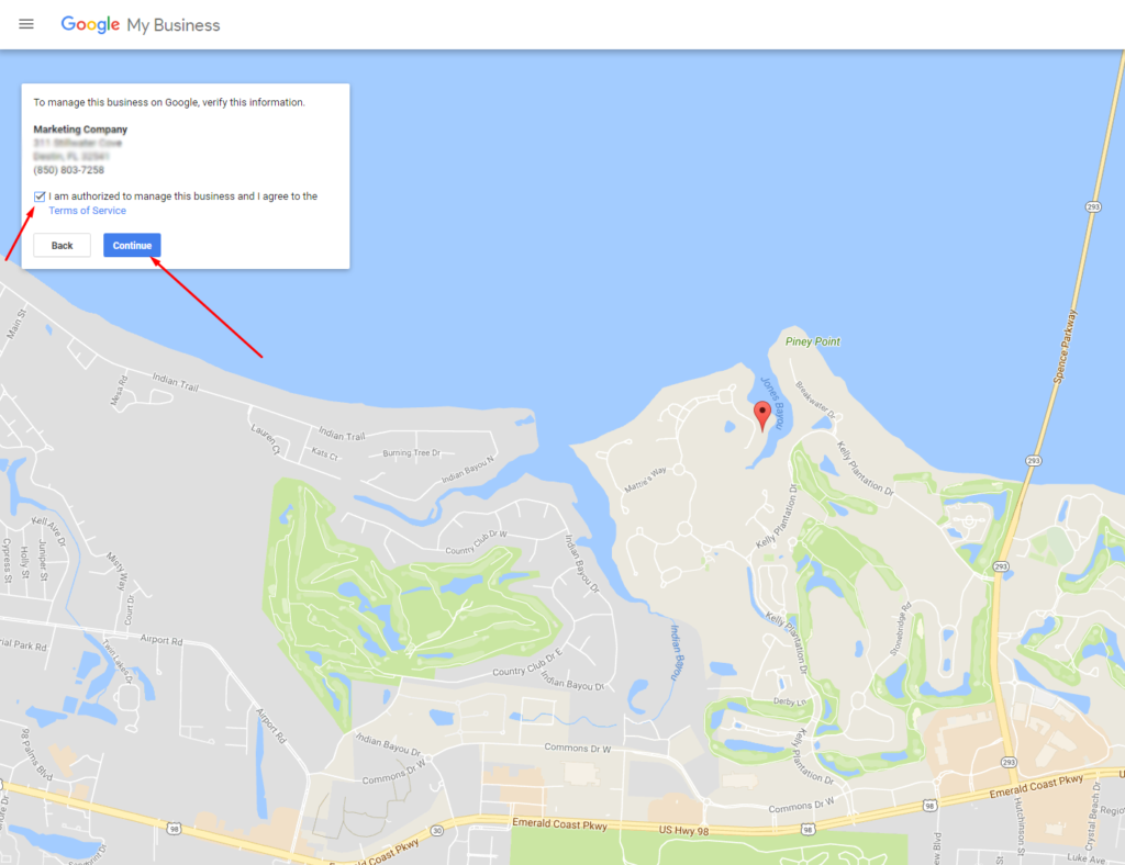 add business to google maps step 3